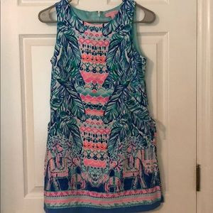 Lilly Pulitzer Donna Romper-Feel the Beat
